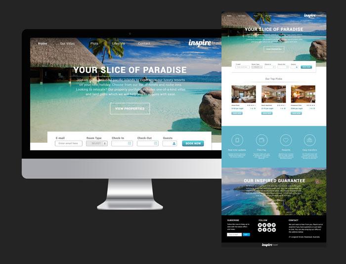 Website Design for Resorts