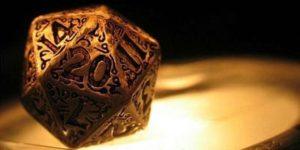 D20 dice