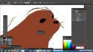 Creating layers in Adobe Illustrator