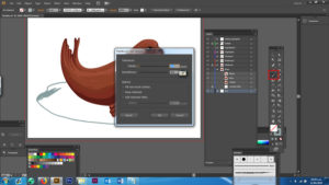 Changing smoothness and fidelity in Adobe Illustrator